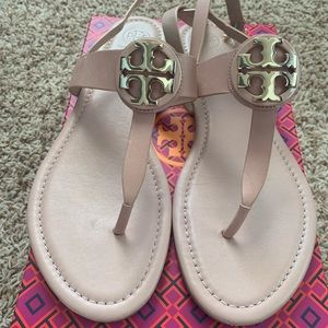 Tory Burch flat sandals size 10.5